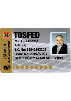 METE BAYRAKÇI TOSFED 2019