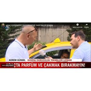 ARAÇ İÇERİSİNDE PARFÜM TEHLİKESİ
